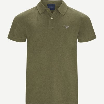 The original Pique SS Rugger Polo T-shirt Regular | The original Pique SS Rugger Polo T-shirt | Grøn